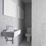 36平极简主义设计欣赏卫生间