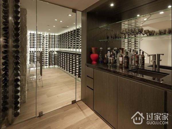 现代奢华别墅设计储物间