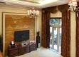 欧式风格住宅客厅电视墙设计