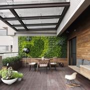 现代简约风公寓套图阳台效果图
