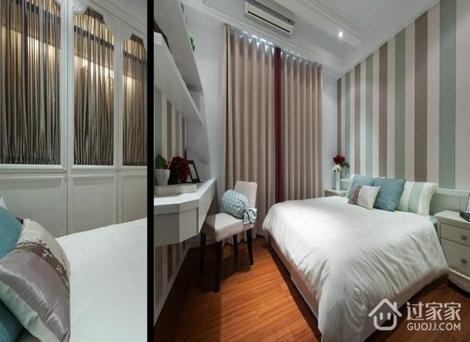 白色现代大四居欣赏卧室设计