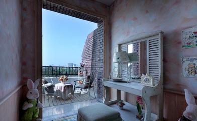 混搭时尚风情住宅欣赏阳台