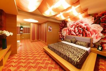 124平简约复式楼欣赏卧室