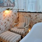 中式风格别墅卫生间沙发图片