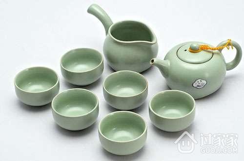 古风画茶具图片素材