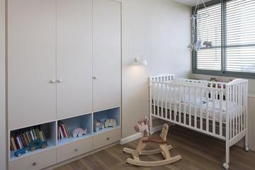 87平简约风格实用住宅欣赏儿童房局部