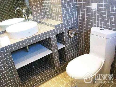 卫生间砖砌洗手台的安装方法_过家家装修网