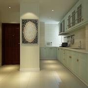 现代开放式厨房隔断墙装修 简单温馨生活
