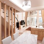 124平日式风格住宅欣赏餐厅