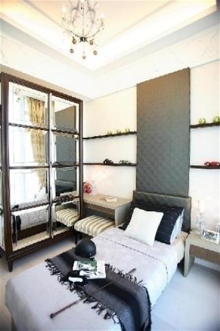 新古典三居室案例设计欣赏卧室背景墙