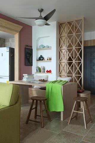 98平舒适定义简约空间欣赏书房设计