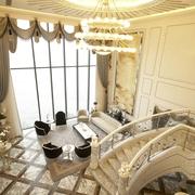 复试欧式风格设计客厅吊顶