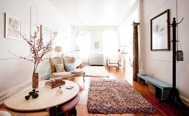 法式古典乡村风一居室欣赏客厅设计