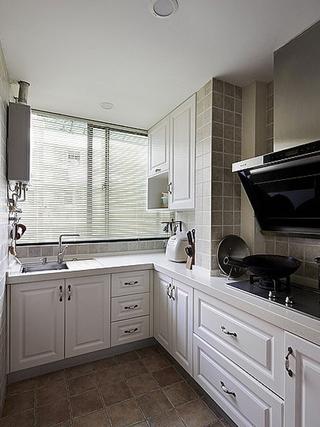90平三室两厅住宅欣赏厨房
