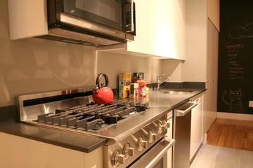 简约温馨单身居所欣赏厨房橱柜