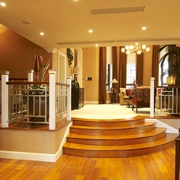 欧式风格复式别墅家居地台效果