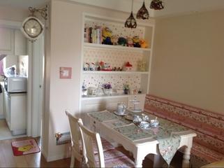 62平田园两居住宅欣赏餐厅书柜