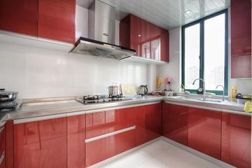 113平简约时尚三居室欣赏厨房