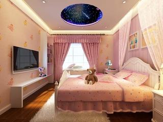 简约雅致效果图欣赏儿童房