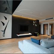 中式家居风格简约电视墙