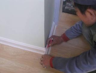 踢脚线安装施工要点