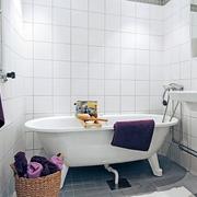 56平北欧舒适小户型欣赏卫生间