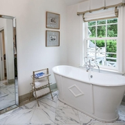 田园风格大卫浴缸