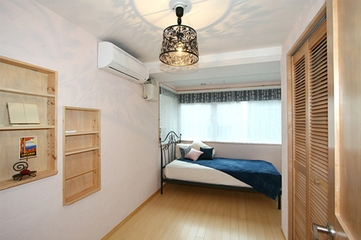 日式温馨三居室欣赏卧室