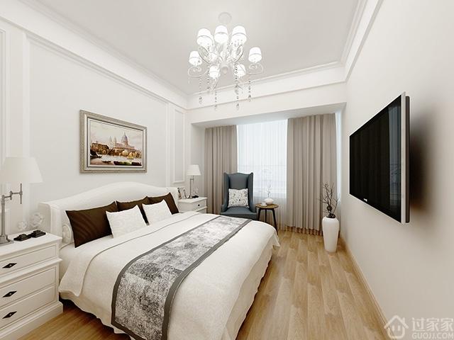【黑科技】我为80后金领设计的效果图 104㎡3房2厅简欧风