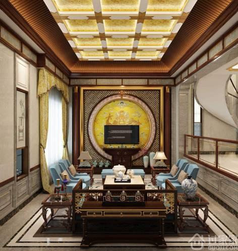 新中式客厅装修,品位的象征