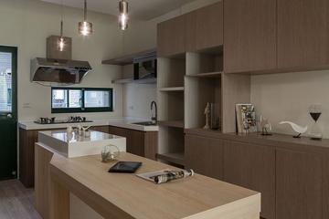 99平日式风格住宅欣赏厨房