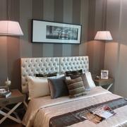 现代风雅致两居室欣赏卧室灯饰