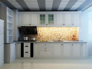 107平现代三室住宅欣赏厨房橱柜