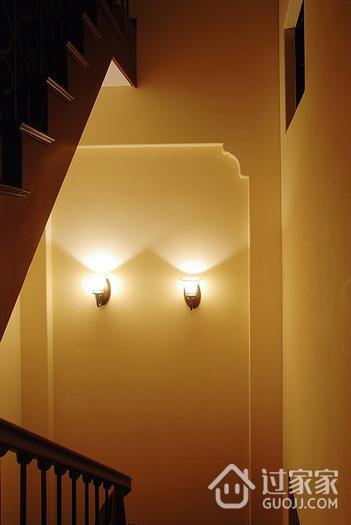 美式雅致三居室欣赏楼梯