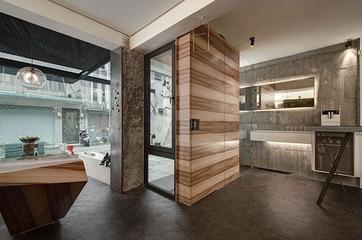 现代设计别墅效果图赏析书房陈设