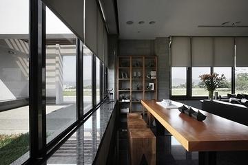 现代奢华效果套图赏析窗台