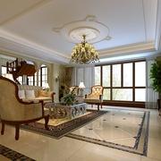 新古典别墅装饰效果图