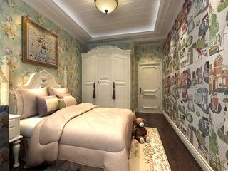 120平奢华欧式住宅欣赏儿童房设计