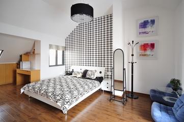 现代风格装修设计卧室背景墙设计