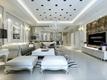 洁白纯净家居 欧式客厅灯饰装修效果图