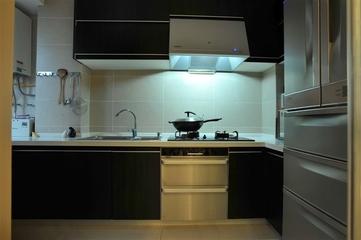 78平现代舒适两居室欣赏厨房