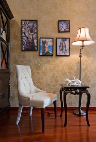 典雅法式装饰住宅欣赏客厅局部
