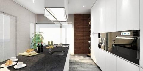 现代简洁两居室欣赏厨房设计