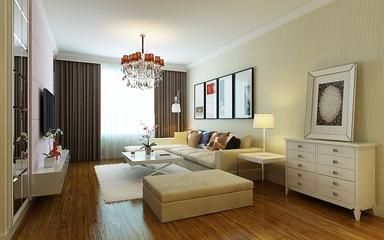 现代客厅灯饰装修效果图 明亮简约风