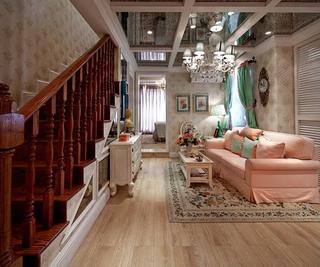 奢华欧式精装住宅欣赏客厅吊顶设计