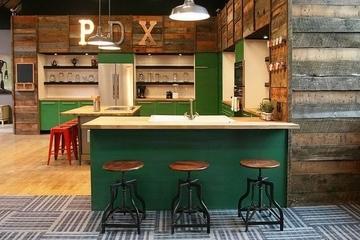 五颜六色创意混搭欣赏厨房设计