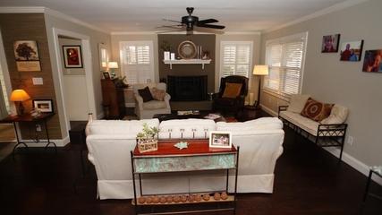 混搭别墅家装效果图家庭厅