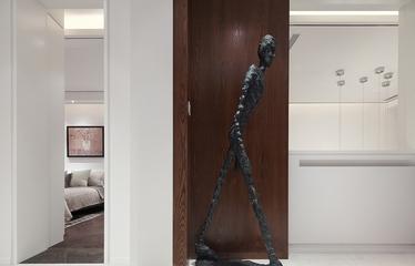奢华复式新古典风格欣赏卧室过道