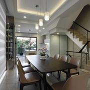 简约禅意复式楼欣赏餐厅设计