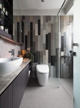 现代风轻奢家居设计卫生间